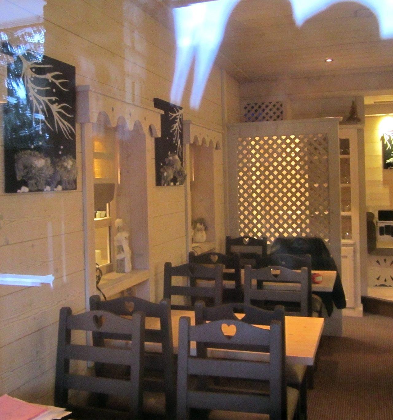 Ice Home Couture au restaurant Le Cèpe