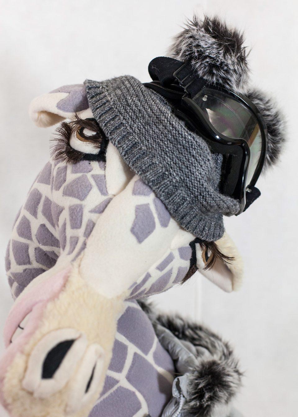 Trophée la girafe skieuse